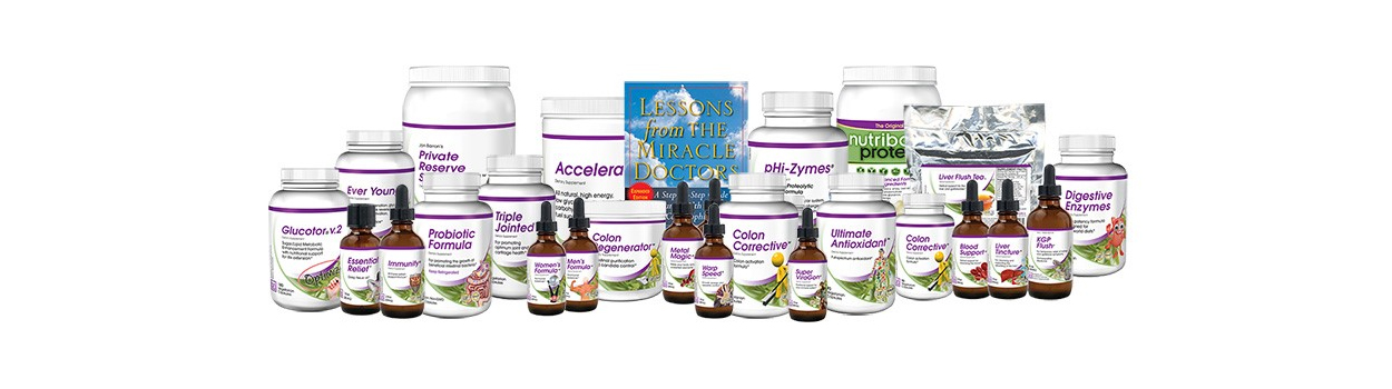 Baseline Nutritionals Home Page